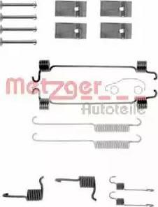 Metzger 105-0676 - Piederumu komplekts, Bremžu loki autodraugiem.lv