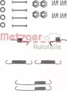 Metzger 105-0673 - Piederumu komplekts, Bremžu loki autodraugiem.lv
