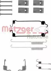 Metzger 105-0677 - Piederumu komplekts, Bremžu loki autodraugiem.lv