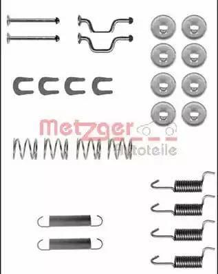 Metzger 105-0810 - Piederumu komplekts, Stāvbremzes mehānisma bremžu loks autodraugiem.lv