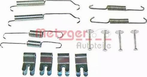 Metzger 105-0882 - Piederumu komplekts, Bremžu loki autodraugiem.lv