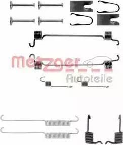 Metzger 105-0749 - Piederumu komplekts, Bremžu loki autodraugiem.lv