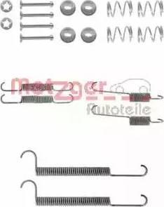 Metzger 105-0746 - Piederumu komplekts, Bremžu loki autodraugiem.lv
