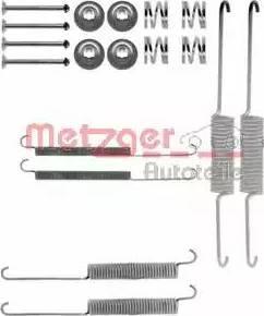 Metzger 105-0758 - Piederumu komplekts, Bremžu loki autodraugiem.lv