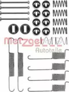 Metzger 105-0715 - Piederumu komplekts, Bremžu loki autodraugiem.lv
