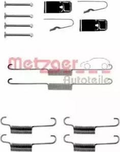Metzger 105-0723 - Piederumu komplekts, Bremžu loki autodraugiem.lv