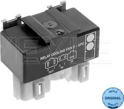 Meyle 514 800 0021 - Relejs, Radiatora ventilatora sistēma autodraugiem.lv
