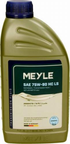 Meyle 014 019 2600 - Manuālās pārnesumkārbas eļļa autodraugiem.lv