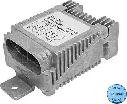 Meyle 014 880 0016 - Vadības bloks, Elektroventilators (Motora dzesēšana) autodraugiem.lv
