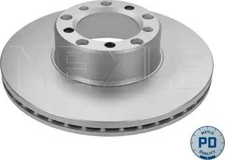Meyle 015 521 2003/PD - Bremžu diski autodraugiem.lv