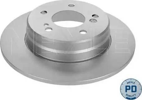 Meyle 015 523 0021/PD - Bremžu diski autodraugiem.lv