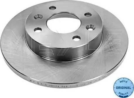 Meyle 16-11 521 0001 - Bremžu diski autodraugiem.lv