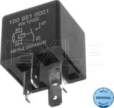Meyle 100 951 0001 - Multifunkcionāls relejs autodraugiem.lv