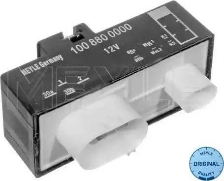 Meyle 100 880 0000 - Vadības bloks, Elektroventilators (Motora dzesēšana) autodraugiem.lv