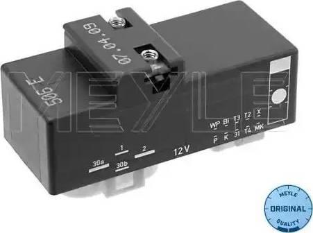 Meyle 100 880 0019 - Vadības bloks, Elektroventilators (Motora dzesēšana) autodraugiem.lv