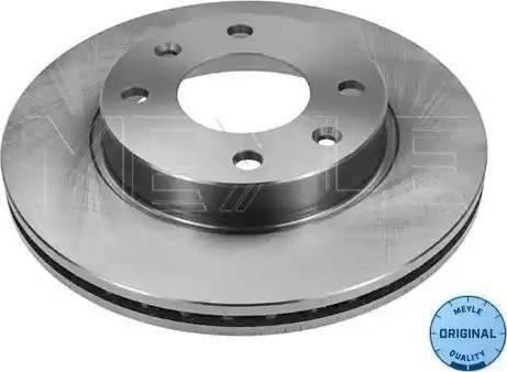 Meyle 11-15 521 0010 - Bremžu diski autodraugiem.lv