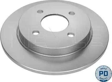 Meyle 715 523 0010/PD - Bremžu diski autodraugiem.lv