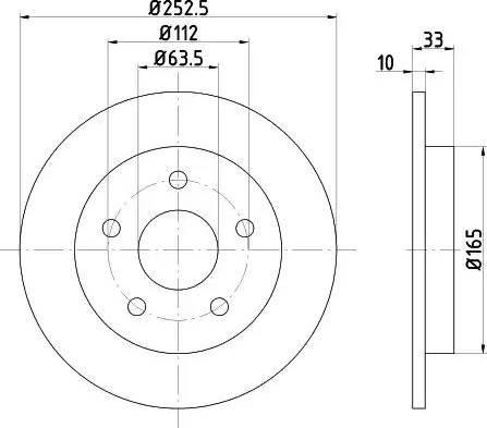 Mintex MDC410 - Bremžu diski autodraugiem.lv