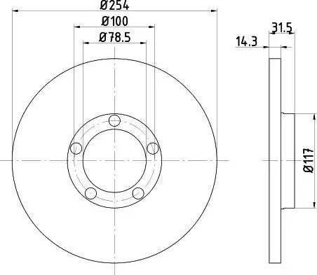 Mintex MDC430 - Bremžu diski autodraugiem.lv