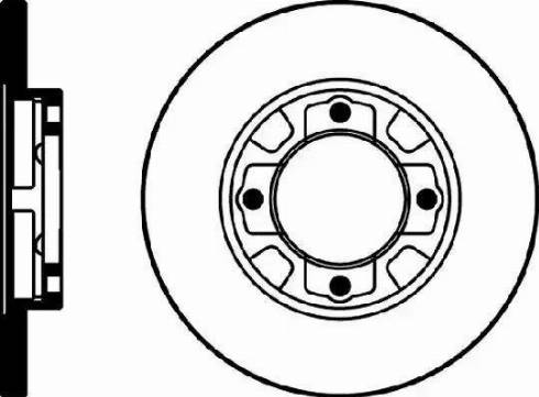 Mintex MDC581 - Bremžu diski autodraugiem.lv