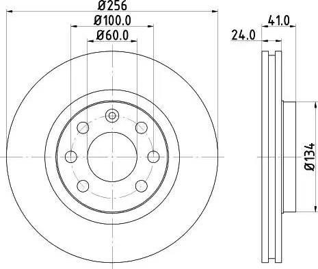 Mintex MDC692 - Bremžu diski autodraugiem.lv