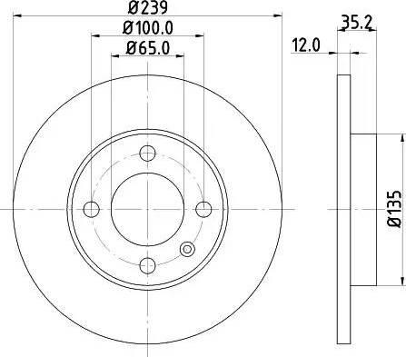 Mintex MDC198 - Bremžu diski autodraugiem.lv