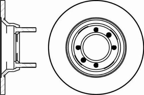 Mintex MDC197 - Bremžu diski autodraugiem.lv