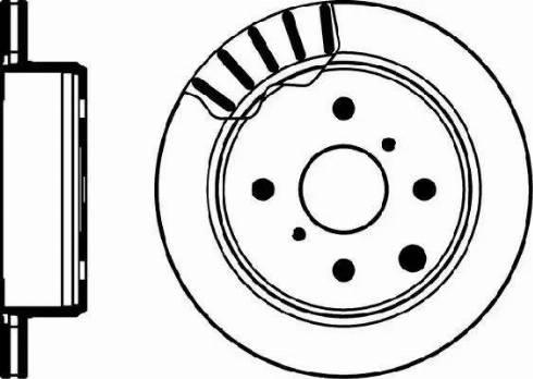 Mintex MDC1147 - Bremžu diski autodraugiem.lv