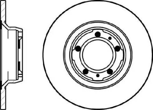 Mintex MDC1154 - Bremžu diski autodraugiem.lv