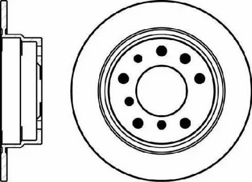 Mintex MDC1180 - Bremžu diski autodraugiem.lv