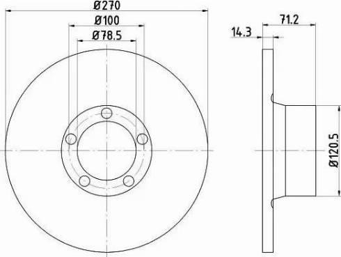 Mintex MDC177 - Bremžu diski autodraugiem.lv