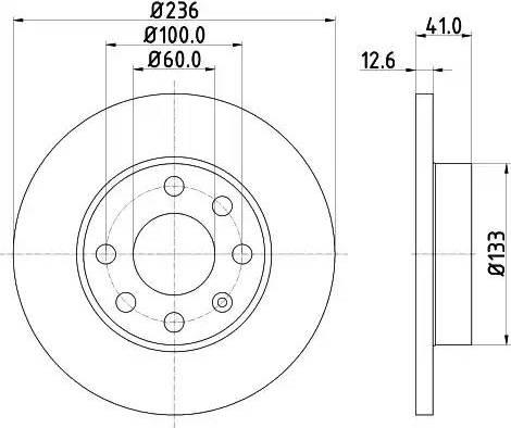 Mintex MDC266 - Bremžu diski autodraugiem.lv