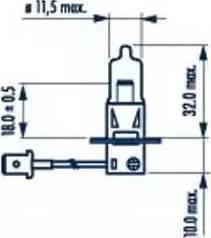 Narva 48700 - Kvēlspuldze, Miglas lukturis autodraugiem.lv