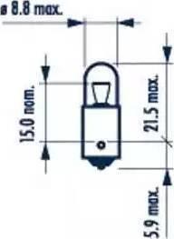 Narva 17131 - Kvēlspuldze, Pieejas signāla gaisma autodraugiem.lv