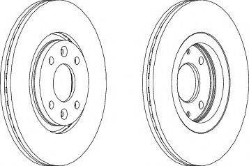 A.B.S. 15863 - Bremžu diski autodraugiem.lv