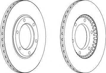 A.B.S. 15575 - Bremžu diski autodraugiem.lv