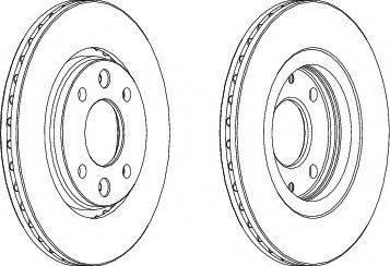 A.B.S. 15864 - Bremžu diski autodraugiem.lv