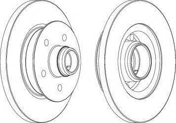 A.B.S. 15826 - Bremžu diski autodraugiem.lv