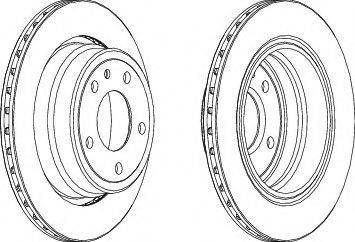 A.B.S. 15873 - Bremžu diski autodraugiem.lv