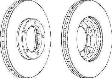 A.B.S. 15659 - Bremžu diski autodraugiem.lv