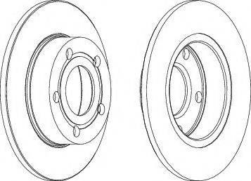A.B.S. 15798 - Bremžu diski autodraugiem.lv