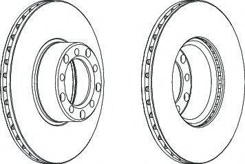 A.B.S. 15743 - Bremžu diski autodraugiem.lv