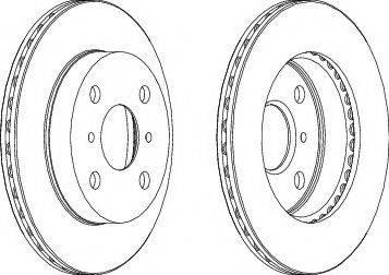 A.B.S. 15853 - Bremžu diski autodraugiem.lv