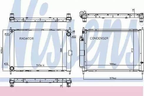 Nissens 637625 - Dzesēšanas modulis autodraugiem.lv