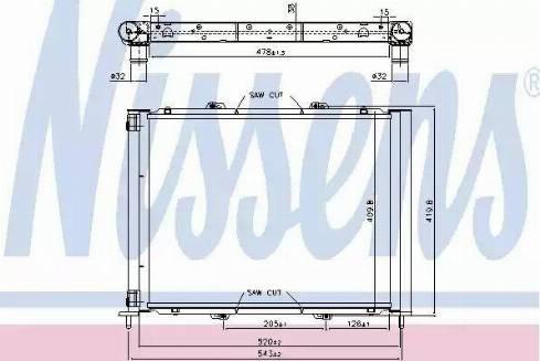 Nissens 637626 - Dzesēšanas modulis autodraugiem.lv