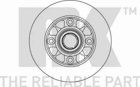 NK 203214 - Bremžu diski autodraugiem.lv