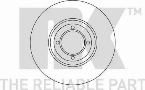 NK 203713 - Bremžu diski autodraugiem.lv