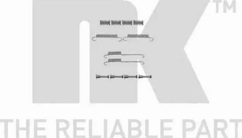 NK 7993892 - Piederumu komplekts, Stāvbremzes mehānisma bremžu loks autodraugiem.lv
