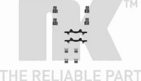 NK 7945106 - Piederumu komplekts, Disku bremžu uzlikas autodraugiem.lv