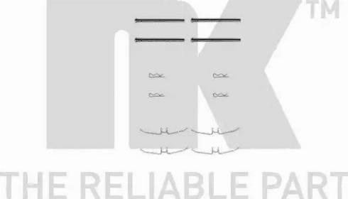 NK 7948901 - Piederumu komplekts, Disku bremžu uzlikas autodraugiem.lv